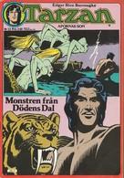 Tarzan Apornas Son Nr 12 - 1977 (In Swedish) Atlantic Förlags AB - Monstren Från Dödens Dal- Russ Manning - BE - Langues Scandinaves