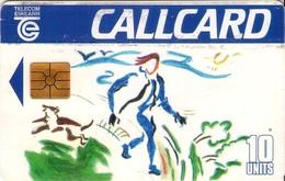 TARJETA TELEFONICA DE IRLANDA, DESIGN A CALLCARD'93. 1058a (034) - Irlanda