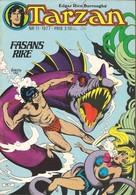 Tarzan Apornas Son Nr 11 - 1977 (In Swedish) Atlantic Förlags AB - Fasans Rike Och Dimmornas Berg - Rick Hoberg - BE - Langues Scandinaves