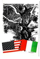 Forum Internazionale Tra Provincie Italiane E Contee Degli U.S.A. - Modena 22-23 Novembre 1988. Disegno Di Nani Tedeschi - Eventi