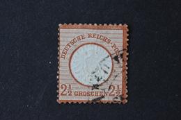 Allemagne Empire - 1872 Aigle En Relief Gros écusson N° 18 Brun-rouge Oblitéré - Germany