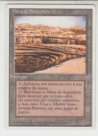 Magic The Gathering * Mina De Superfície * Portuguese * 4ª Edição - Terreni