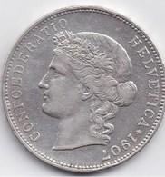 SUISSE - 5 Fr 1907 B - Switzerland