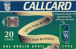 TARJETA TELEFONICA DE IRLANDA, COMMUNICATIONS'95. 1086 (019) - Irlanda