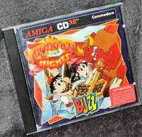 Très Rare Console Jeux Amiga CD32 Commodore Arabian Night Buzz - Jeux électroniques