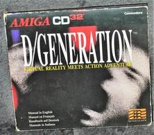 Très Rare Console Jeux Amiga CD32 Commodore D/generation - Jeux électroniques