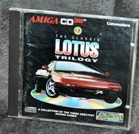 Très Rare Console Jeux Amiga CD32 Commodore The Classic Lotus Trilogy - Consoles