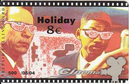 GREECE - Cinema, Men In Black/Tommy Lee Jones-Will Smith, Amimex Prepaid Card 8 Euro, Tirage 500, 05/04, Used - Cinema