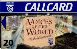 TARJETA TELEFONICA DE IRLANDA, VOICES OF THE WORLD. 1092 (036) - Irlanda
