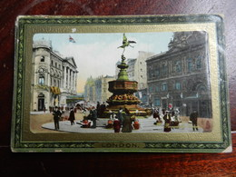 17212) TUCK'S FRAMED GEM GLOSSO N° 708 LONDON PICCADILLY CIRCUS VIAGGIATA - Piccadilly Circus
