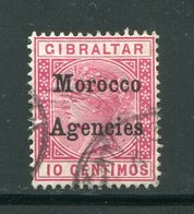 MAROC ANGLAIS- Tous Bureaux- Y&T N°2- Oblitéré - Morocco Agencies / Tangier (...-1958)