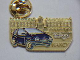 Pin's - Automobile RENAULT TWINGO NANCY - Renault