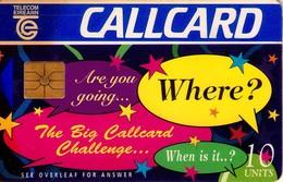 TARJETA TELEFONICA DE IRLANDA, CALLCARD FAIR'96. 1116 (061) REGULAR - Irlanda