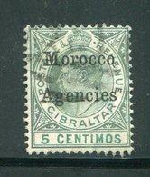 MAROC ANGLAIS- Tous Bureaux- Y&T N°9- Oblitéré - Oficinas En  Marruecos / Tanger : (...-1958