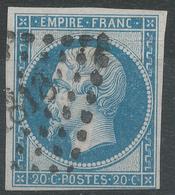 Lot N°42921  N°14A, Oblit PC 1818 Lyon, Rhone (68), Bonnes Marges - 1853-1860 Napoléon III