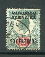 MAROC ANGLAIS- Tous Bureaux- Y&T N°26- Oblitéré - Oficinas En  Marruecos / Tanger : (...-1958