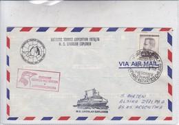 SPC. AIRMAIL. ANTARTIC TOURIST EXPEDITION. PRESIDENT EDUARDO FREI STATION. AUTRES MARQUES CIRCA 1976.CHILE.-BLEUP - Postzegels