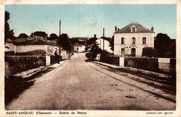 SAINT ANGEAU ENTREE DU BOURG - Autres Communes