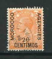 MAROC ANGLAIS- Tous Bureaux- Y&T N°52- Oblitéré - Oficinas En  Marruecos / Tanger : (...-1958