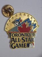 Pin's - Basketball - NBA TORONTO ALL-STAR GAME 1991 - Basketball