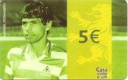 Casa Vinte E Um - Sport -  Football Player (Manuel Fernandes) - Other Collections