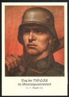 AK/CP Tag Der NSDAP Generalgouvernement  Propaganda  Nazi  Ungel/uncirc. 1941  Erhaltung/Cond. 2  Nr. 00434 - Guerra 1939-45