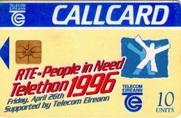 TARJETA TELEFONICA DE IRLANDA, TELETHON 1996. 1127 (067) - Irlanda