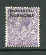 MAROC ANGLAIS- Tous Les Bureaux- Y&T N°12- Oblitéré - Oficinas En  Marruecos / Tanger : (...-1958
