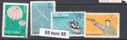 1964   Sport  4v.- Used/oblitere (O)    VIETNAM - NORD - Viêt-Nam