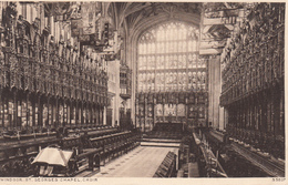 England UK - Windsor - St. Georges Chapel - Unused VG Condition  - 2 Scans - Windsor