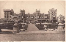 England UK - Windsor Castle - East Terrace - Unused - VG Condition - 2 Scans - Windsor
