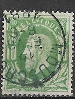 8Bs-747:N°30:E9: MOUSCRON - 1869-1883 Leopoldo II