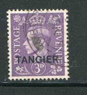 MAROC ANGLAIS- Tanger- Y&T N°31- Oblitéré - Postämter In Marokko/Tanger (...-1958)