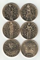 Lot 5 Medailles Arthus Bertrand Musée Grévin SD Neuve - Arthus Bertrand