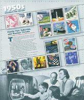 VERINIGTE STAATEN ETATS UNIS USA 1998 MS CELEBRATE CENTURY 1950s SC 3187 YV 2685 MI B44 SG MS3382 - Ganze Bögen
