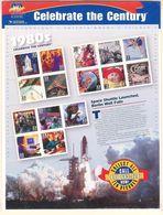 VERINIGTE STAATEN ETATS UNIS USA 1998 MS CELEBRATE CENTURY 1980s SC 3190 YV 2688 MI B50 SG MS3385 - Ganze Bögen