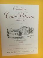 8366 - Château Tour Pibran 1982 Pauillac - Bordeaux