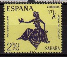 1968 Spanish Sahara - Zodiac Signs - Virgo  - MNH ** Mi 298 (t34) - Astrologie