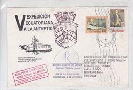 V EXPEDICION ECUATORIANA A LA ANTARTIDA. SIGNEE. AUTRES MARQUES. 1994. ECUADOR.-BLEUP - Ecuador