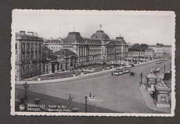 The  King's Palace, Brussels, Belgium - Real Photo - Used 1937 - Belgium