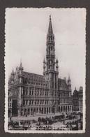 City Hall & Groote Market, Brussels, Belgium - Real Photo - Used 1937 - Belgium