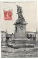 55 FRESNES EN WOEVRE Statue Du Général Margueritte Sedan - France