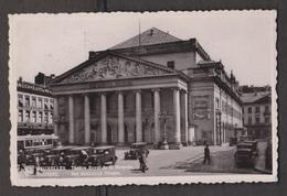 Royal Monnaie Theatre, Brussels, Belgium - Real Photo - Used 1937 - Belgium