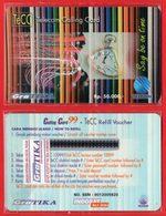 L25 - Indonesia Telkom TeCC Telkom Calling Card Say Be On Time Mint - Indonesia
