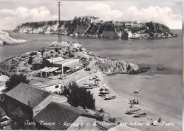Isole Tremiti - Spiaggia Di San Domino Con Veduta Di San Nicola - H4436 - Foggia