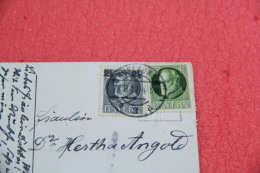 Cover Bayern Wurzburg Domstrasse 1917 + Stamps Rare+++++++ - Usati