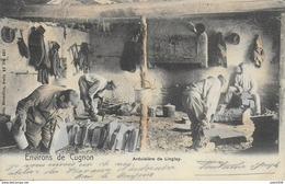 MORTEHAN ..-- Nels 40 , N° 287 . ARDOISIERS à LINGLAY . 1905 Vers PARIS . Voir Verso . - Bertrix