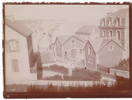 Arromanches Rue De La Batterie Vers 1895 1900 - Old (before 1900)
