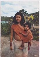 LA GUYANE - MAMAN INDIENNE ET SON ENFANT - Guyane