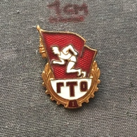 Badge (Pin) ZN006748 - Sport Soviet Union (USSR SSSR CCCP) Ready For Labour And Defense GTO - Badges